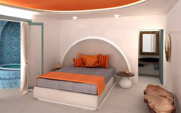 3D project for ibiscus hotel @ Mykonos