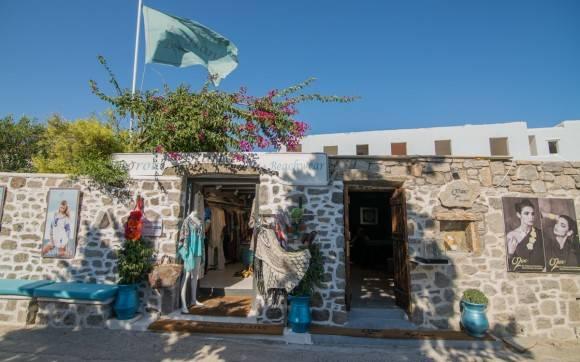 Psarou Kaftans and Beachwear & OZAR  jewellery @ mykonos